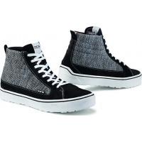 TCX STREET 3 AIR Moto Shoes Black Grey