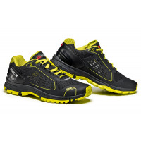 Sidi Approach motorcycle shoes black lime