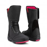 Befast Violet WP woman touring leather boots Black