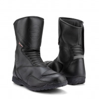 Befast Travel WP touring leather boots Black