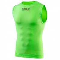 Sleeveless Technical Underwear Sixs Color Green