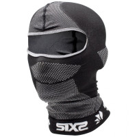 Sixs DBXL BT Balaclava Black Carbon