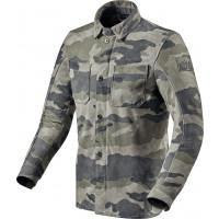 Rev'it Friction leather overshirt Grey