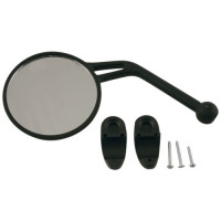 Rear-view mirror left cross Acerbis 0000541 Black