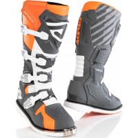 Acerbis X-Race cross boots Orange Grey