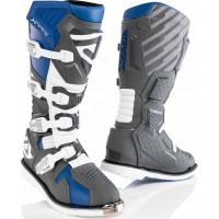 Acerbis X-Race cross boots Blue Grey