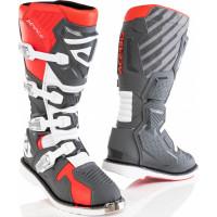 Acerbis X-Race cross boots Red Grey