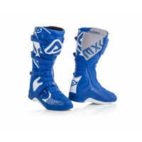 Acerbis X-Team cross boots Blue White