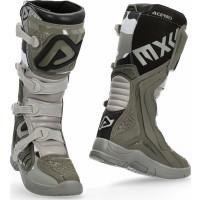 Acerbis X-TEAM cross boots brown grey
