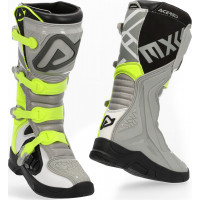 Acerbis X-TEAM cross boots grey yellow