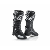 Acerbis X-Team cross boots Black White