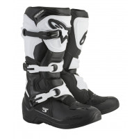 Alpinestars cross boots Tech 3 black white
