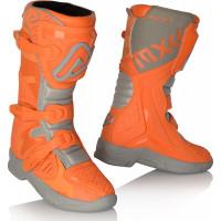 Acerbis X-Team Kid boots Orange Grey