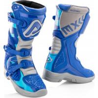 Acerbis X-Team Kid boots Blue Grey