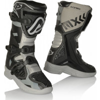 Acerbis X-Team Kid boots Black Grey