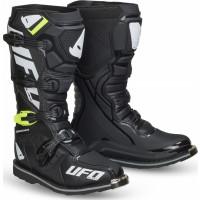 Ufo Plast OBSIDIAN cross boots Black
