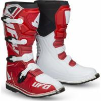 Ufo Plast OBSIDIAN cross boots Red