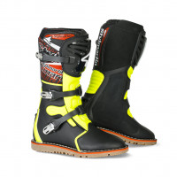 Stylmartin off road boots Impact Pro black fluo yellow