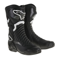 Alpinestars SMX6 V2 racing boots Black White