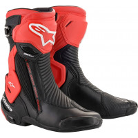 Alpinestars Smx Plus V2 racing boots Black Red
