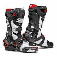 Sidi Rex Air racing summer boots White Black