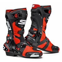 Sidi Rex racing boots Red Fluo Black