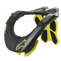 Alpinestars Neck Support BNS TECH-2 Black Fluo Yellow