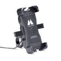 Midland MH-PRO WC handlebar smartphone holder wireless charger