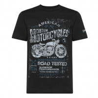 T-shirt Carburo AMERICAN Nero
