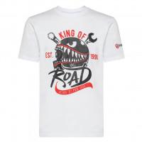 T-shirt Carburo HELMET Bianco