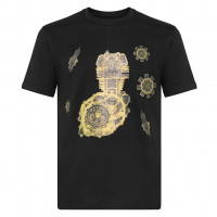 T-shirt Carburo MOTOR Nero