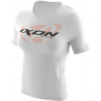 Ixon UNIT LADY T-shirt White Black Orange