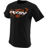 Ixon UNIT T-shirt Black White Orange