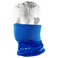 Sixs TBX Blue multi-function motorcycle cylinder neck warmer