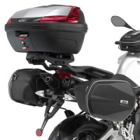 Givi tubular supports for Aprilia