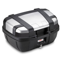 Givi Trekker Monokey suitcase with aluminum finish