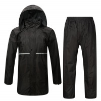 Befast Tempest divisible waterproof suit Black
