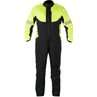 Alpinestars Hurricane rain one-piece suit yellow fluo black