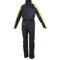 Tucano Urbano Tuta Nano Plus black-yellow Fluo waterproof one piece overall
