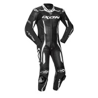 Ixon VORTEX 2 summer leather suit Black White