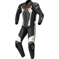 Alpinestars Gp Force Leather Suit 1 Pc Black White Red