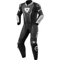 Rev'it Argon inner leather suit Black White