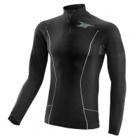 Long-sleeved turtleneck intimate AXO Race 2 Black