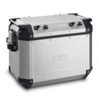 Givi Trekker Outback 48 lt Monokey aluminium right side suitcase