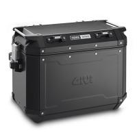 Givi Trekker Outback 48lt Monokey left side suitcase black