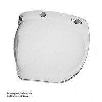 Premier 3 buttons clear visor for MX helmets