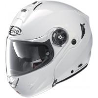 X-lite X-1004 Elegance N-Com metall white Flip-Up helmet