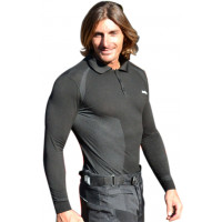 Befast West carbon long sleeved polo