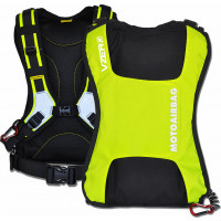 Motoairbag vZero Plus Backpack Airbag with Fast Lock Yellow Fluo