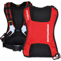 Motoairbag vZero Plus Airbag Backpack with Fast Lock Red